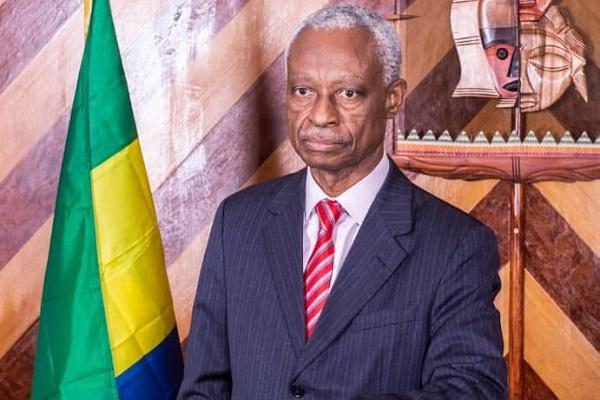 Le maire de Libreville, Eugène Mba.