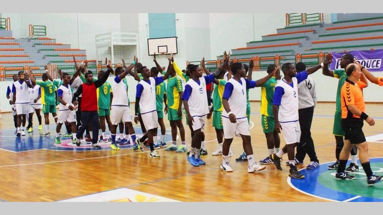 Handball coupe d 39 afrique des clubs vainqueurs de coupe 2016 stade mandji et ph nix au - Coupe d afrique handball ...