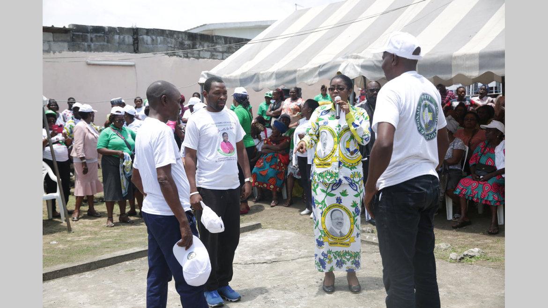 3e arrondissement/PDG : Ossouka Raponda mise sur les femmes et les jeunes