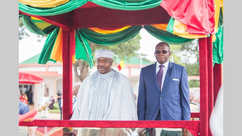 Activités présidentielles : Ali Bongo Ondimba à Conakry