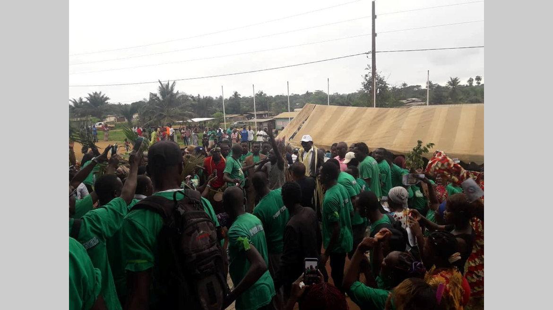 Premier tour des législatives : Belle illustration de l'opposition dans la Nyanga
