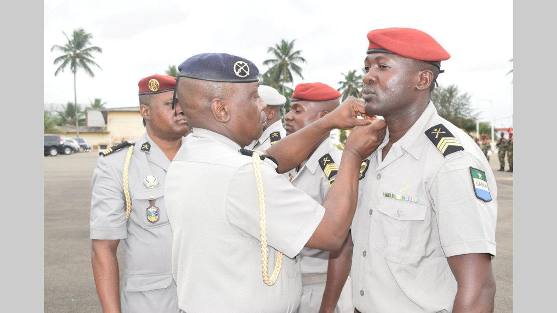 Armée de Terre : 95 militaires montent en grade
