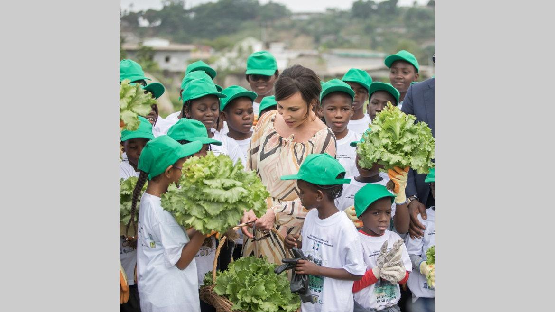 Gabon vert : Sylvia Bongo Ondimba encourage le retour à la terre
