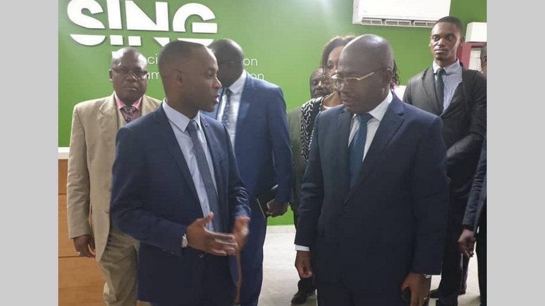 Économie numérique : Ikambouayat Ndeka visite les start-up gabonaises