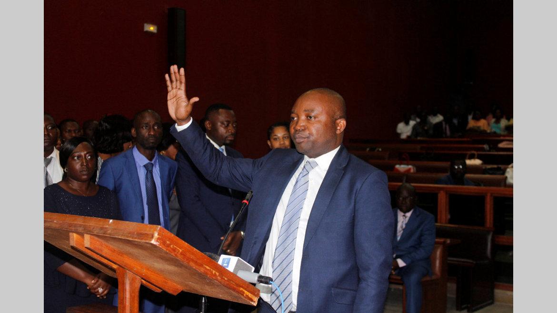 Prestation de serment : Les 86 agents concernés désormais officiers de police judiciaire