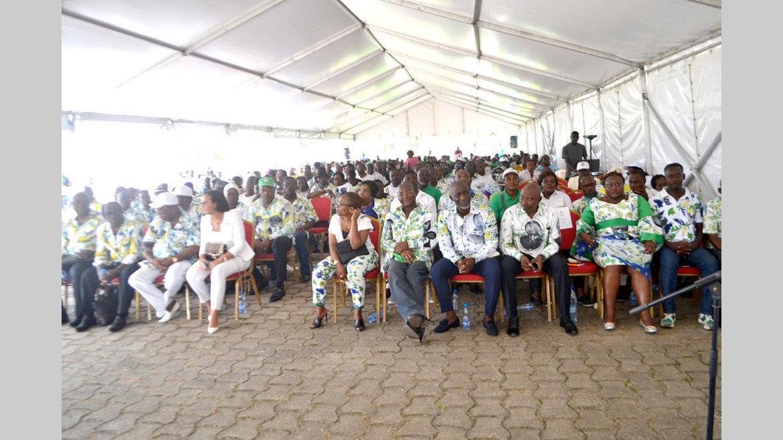 PDG/Lambarené : Les militants s'imprègnent de leurs devoirs et de la charte du parti