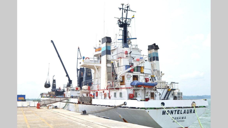 GSEZ/NOIP : Le premier bateau de pêche accoste