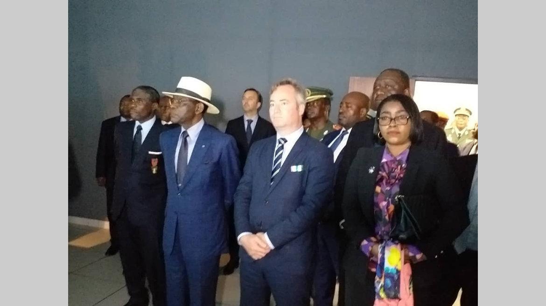 Coopération Gabon-Guinée Equatoriale : Ossouka Raponda à l'école navale de Tica