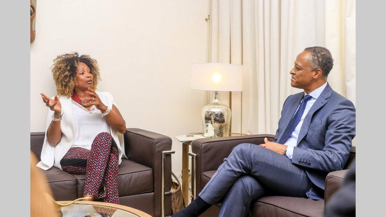 Omnisports : Laura Flessel veut apporter son expérience au Gabon