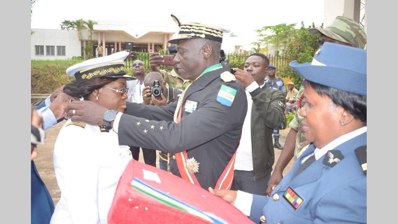 Décorations : Christiane Leckat et Benjamin Banguebe Mayoubi élevés au grade de commandeur