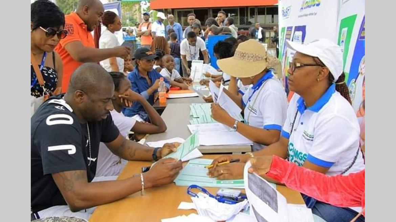 Cnamgs/Campagne d'immatriculation : Plus de 200 personnes enrôlées dans trois arrondissements