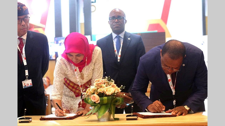 Financement : Eximbank Indonésie octroie 29 milliards de francsà la BDEAC