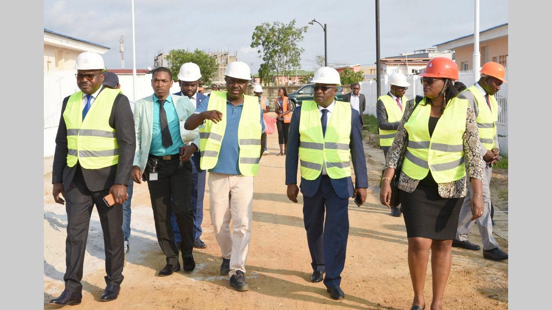 """Visite : Fofana Lassina: """"Nous sommes satisfaits du travail accompli par la CDC au Gabon"""""""