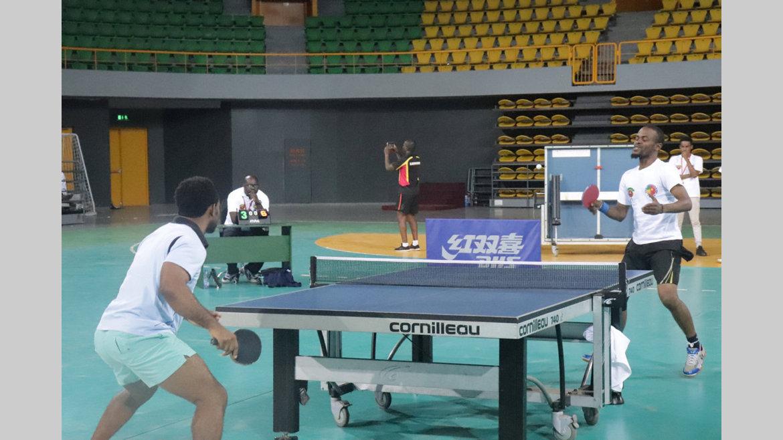 06h/Tennis de table : Six médailles d'or pour les Gabonais