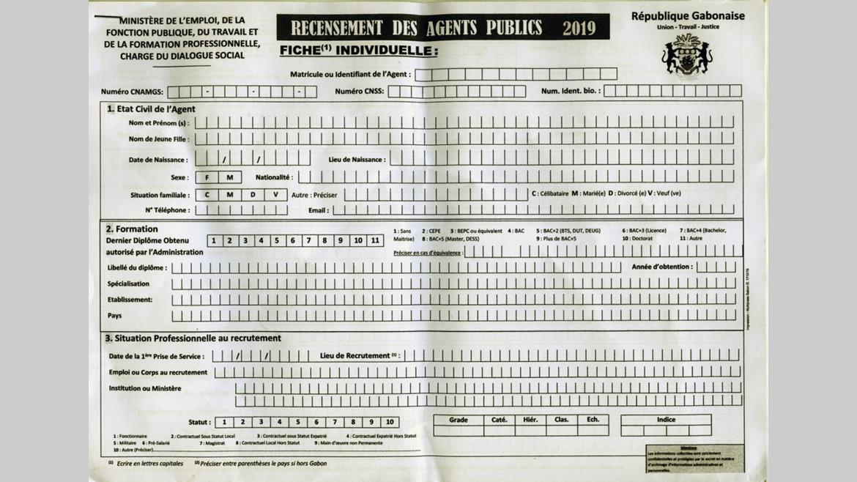 Recensement biométrique des agents de la Fonction publique : À l'heure de la distribution des fiches d'identification