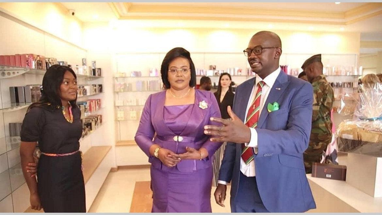 """Ouverture du magasin """"Mangassi"""" : Au bonheur des diplomates"""