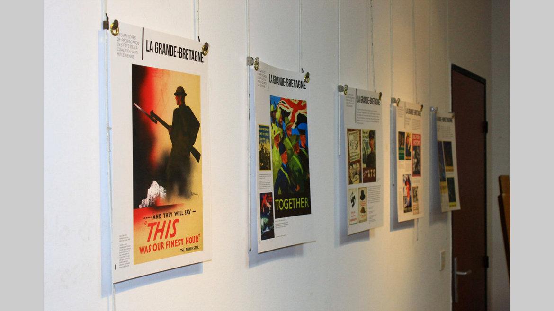 Exposition des affiches de la Seconde Guerre mondiale : Pour revivre la guerre autrement