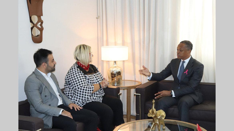 Omnisports/Rencontre ministre gabonais des Sports et l'ambassadeur de la Turquie au Gabon : La Turquie disposée à soutenir le sport national