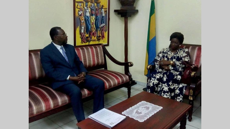 Diplomatie : L'ambassadeur du Cameroun en séjour dans le Woleu-Ntem