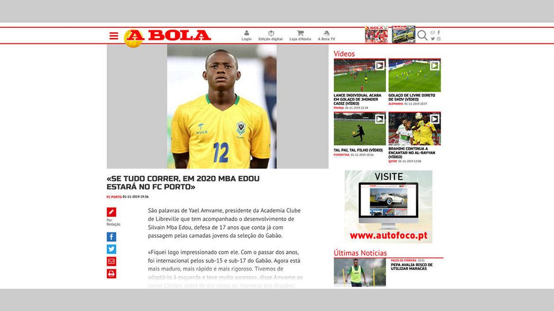 """Média : Quand la presse portugaise parle de """"L'Union"""""""