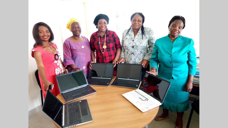 Autonomisation de la femme : Des ordinateurs au Cenaf-Gabon