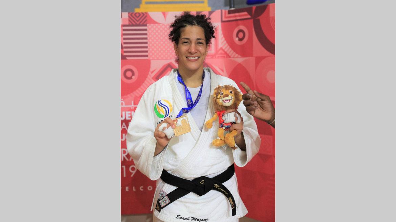 """Trois questions à… : ...Sarah Myriam Mazouz : """"Il faut véritablement aider ce sport"""""""
