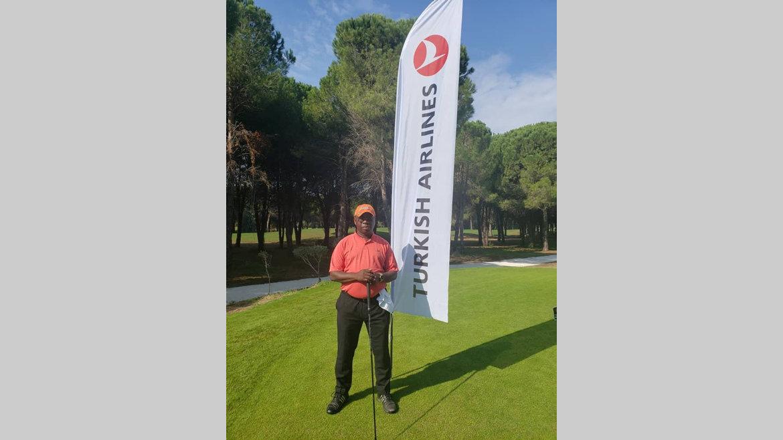 Golf : Basile Julo Engogo classé 27e sur 67 participants