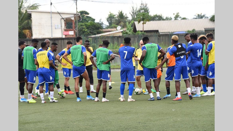 Football : Les Panthères défient dans leur antre les Léopards