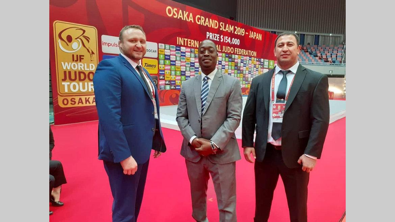 Judo : Jean Claude Djimbi à Osaka