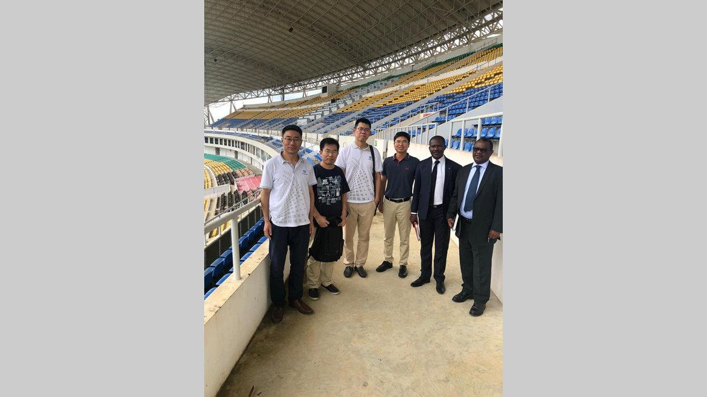 Réhabilitation du stade de l'Amitié : Les Chinois sont là!