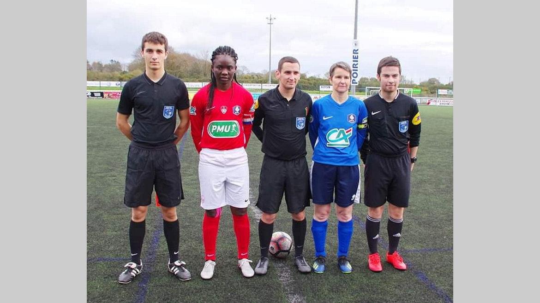 Football : Winie Mapangou promue capitaine de Brest