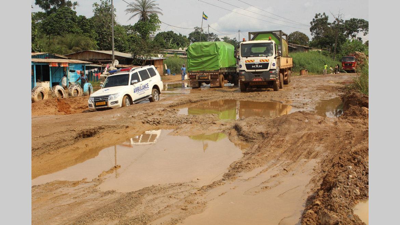Ntoum-Andeme : Les TP à l'assaut du bourbier