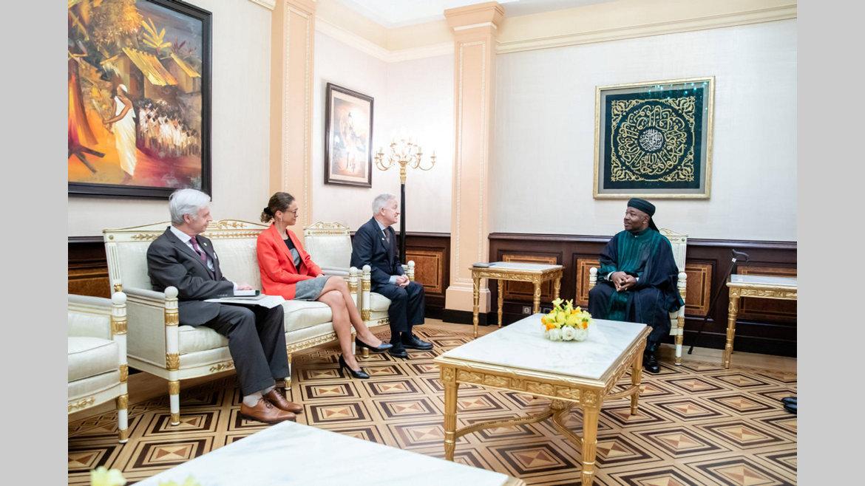Diplomatie : L'Irlande sollicite le soutien du Gabon