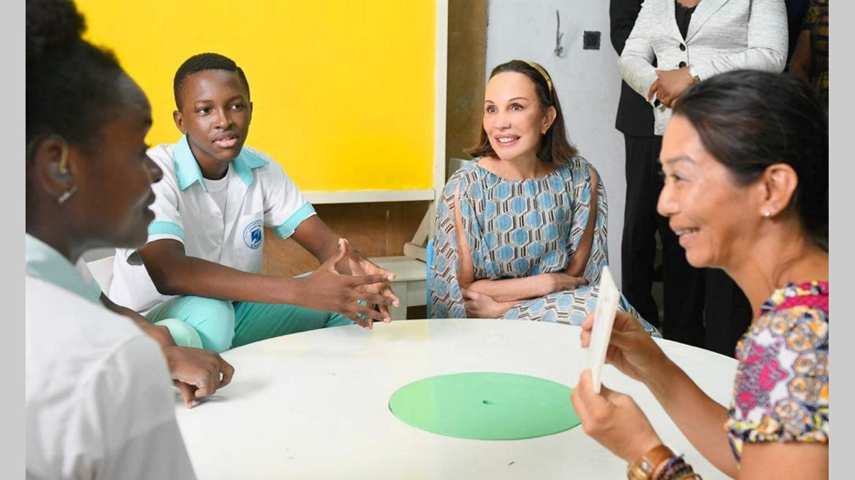 Eneda : L'appui constant de Sylvia Bongo Ondimba