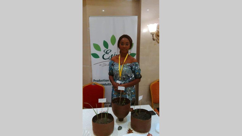 Entreprenariat : Jasmine Sylvia Andeme Abdoul : ''La terre ne ment pas''