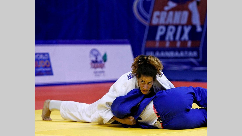 Jeux olympiques 2020 : Déjà qualifiée, Mazouz se prépare au Japon