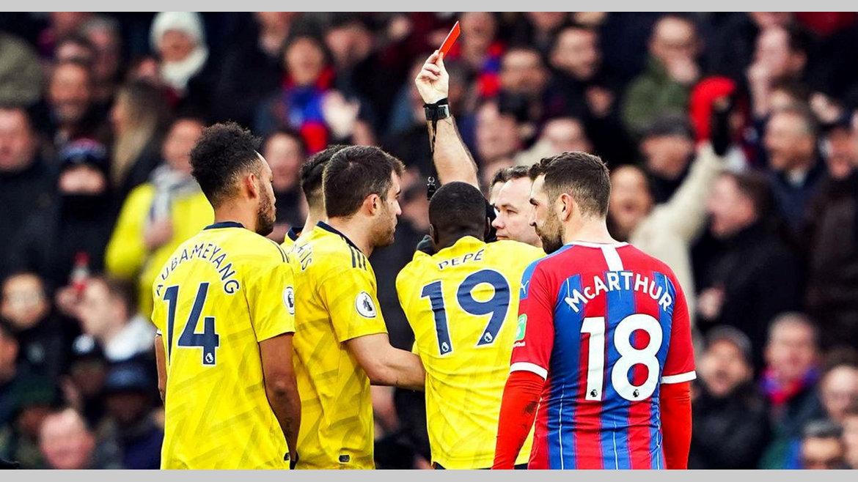 Premier league : PEA buteur, voit rouge
