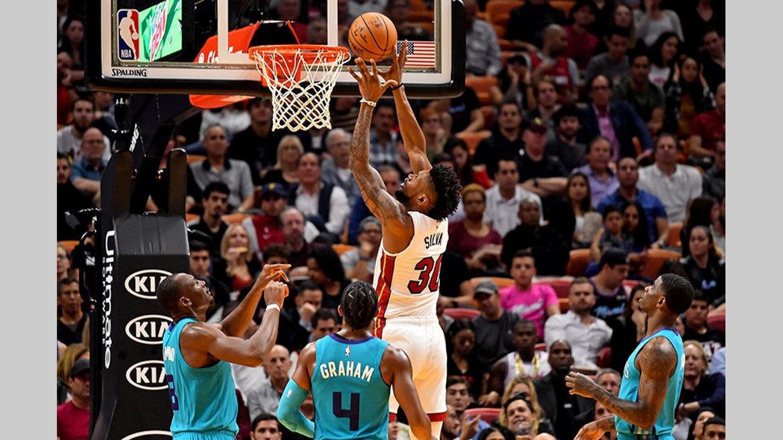 NBA : Chris Silva signe pour 3 ans au Heat de Miami