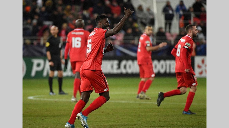 Les Gabonais de l'étranger : Ecuélé Manga buteur en Coupe de France