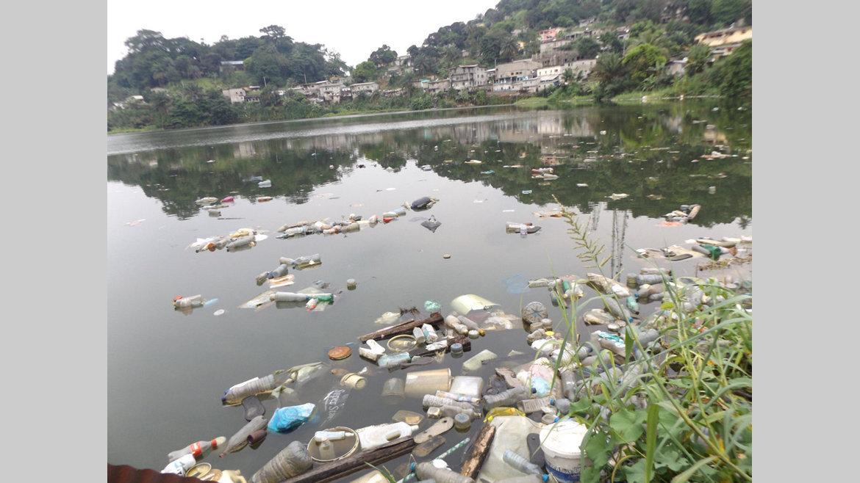 Lac de Nzeng-Ayong : Le dépotoir !