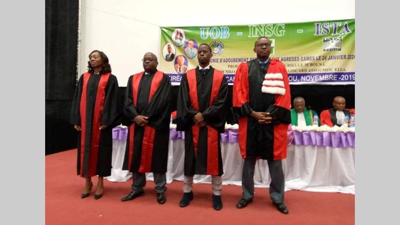 Enseignement supérieur : Les 4 lauréats gabonais du Cames adoubés