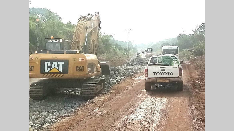 Nationale 1 : Les travaux vont bon train au PK 80