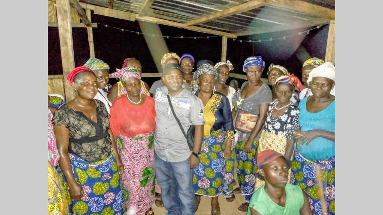 Guietsou : Le député Roland Matsiendi sur le terrain