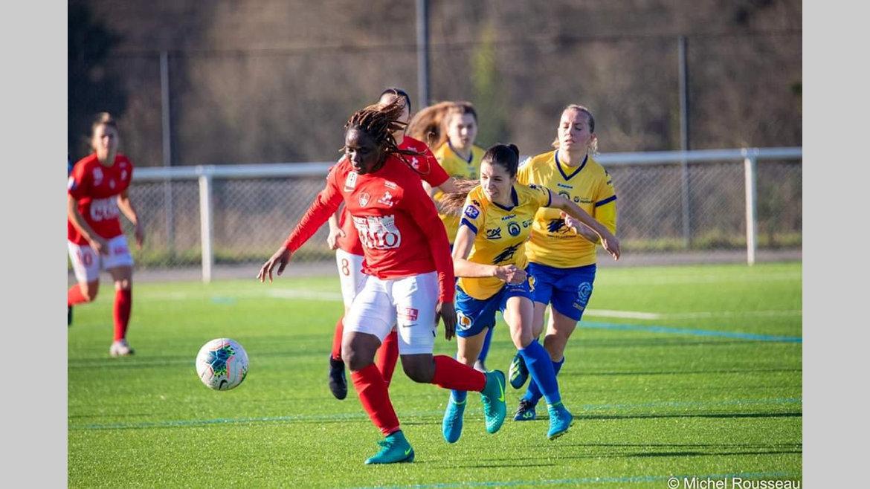 Football féminin : Brest battu à domicile par Toulouse FC