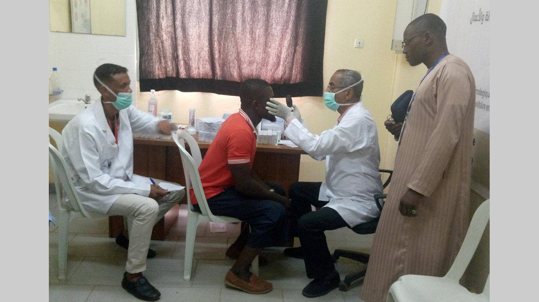 Cataracte : Consultations et distribution gratuite de médicaments à Melen