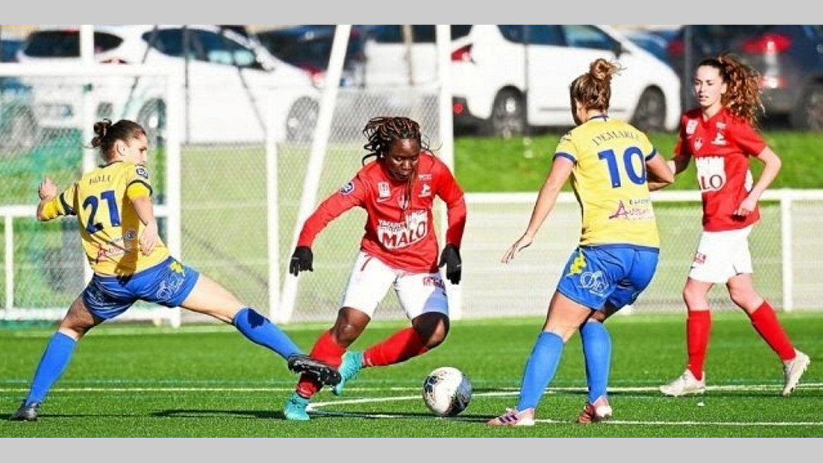 Football féminin Ligue 2 : Brest ramène un point de Rodez sans Winie Mapangou