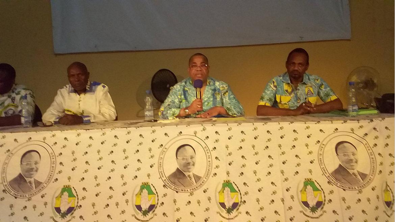 PDG : Remobiliser les troupes à Ntoum