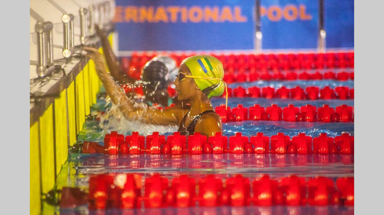 Finale du 50 mètres : Aya Girard De Langlade Mpali termine 2e