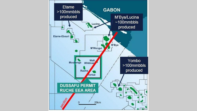 Pétrole : BW Energy à fond sur le permis Dussafu Marin