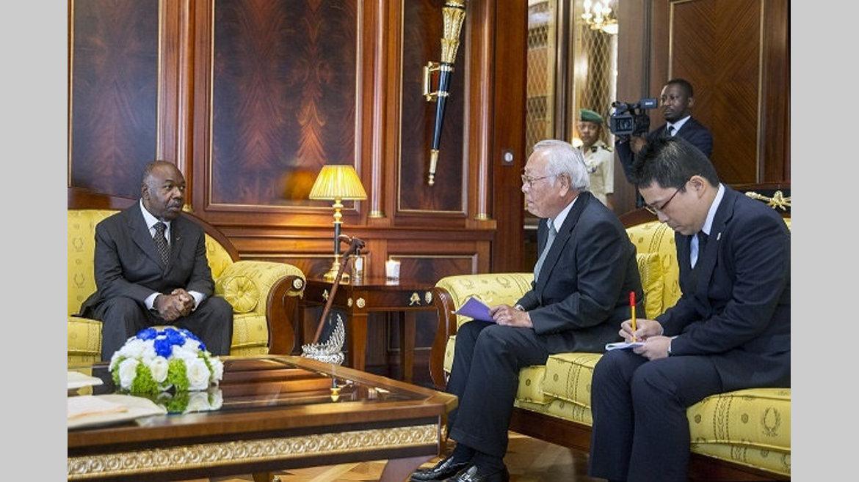 Diplomatie : L'axe Libreville-Tokyo évoqué à la présidence de la République